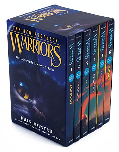 Warriors: The New Prophecy Box Set: Volumes 1 to 6: The Complete Second Series by Harpercollins