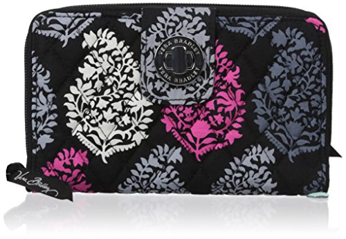 Vera Bradley Turnlock Wallet, Northern Lights, One Size
