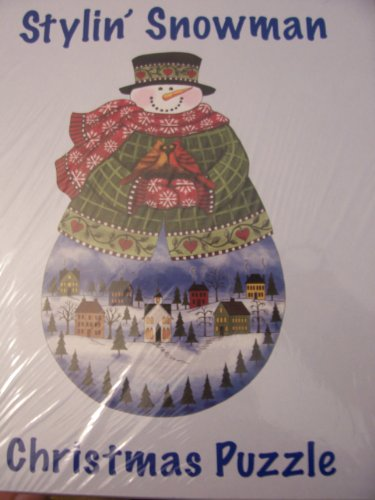 Current Stylin' Snowman 1000 Piece Jigsaw Puzzle