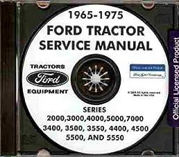 1965 1975 ford tractor repair shop manual 2000 3000 4000 5000 rh amazon com ford 2000 tractor shop manual ford 4600 tractor shop manual