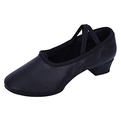 Athletic Dancing shoes Training shoes Gymnastic training dance Leather shoes