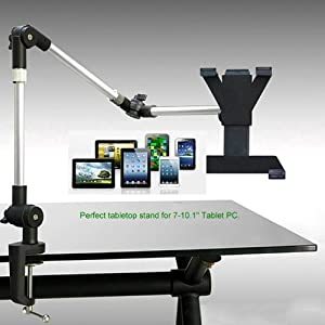 Amazoncom Excelvanreg Flexible Adjustable Tablet Desk Mount