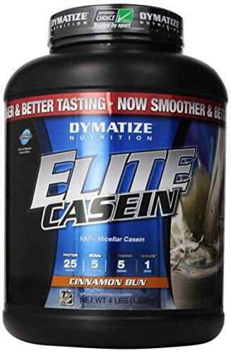 Dymatize Nutrition Elite Shake, caséine Brioche à la cannelle, 4 Pound