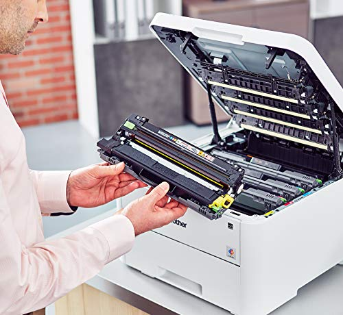 Brother Compact Color Printer Providing Laser Printer Quality Results with Wireless Printing and Duplex Printing, Dash Enabled