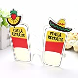 UltimaFio(TM) Funny Retreat Cocktail Wine Mexican Party Glasses Photo booth Party Prop Holiday Beach Oktoberfest Party Supplies Decoration