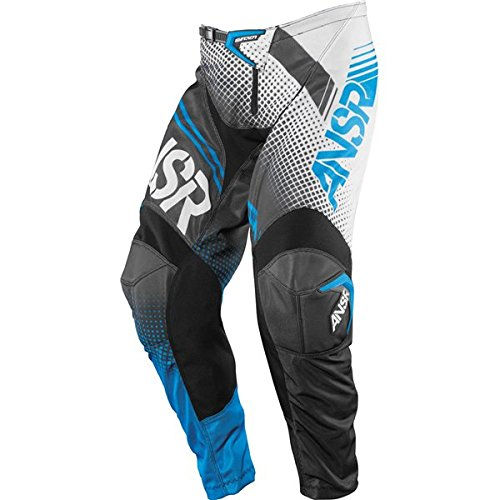 Answer Youth Syncron Pant - Answer A16 Syncron Air Youth Pants, Distinct Name: White/Black/Cyan, Gender: Boys, Primary Color: White, Size: 26, Size Segment: Youth