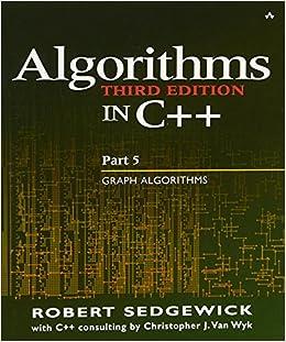 Algorithms in C++ Part 5: Graph Algorithms (3rd Edition