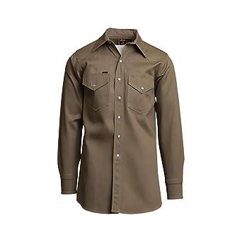 Camisas de soldador de peso medio, 240 g, 100% algodón: Amazon.es: Amazon.es