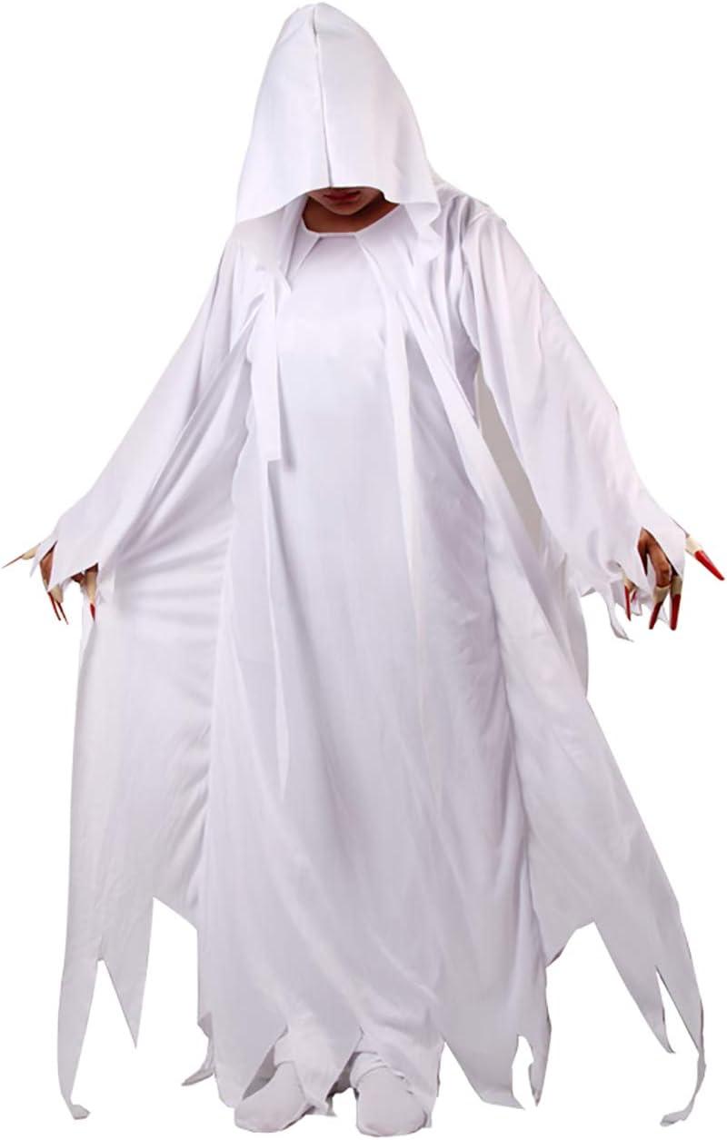 Feynman Disfraces de Zombi Novia Fantasma Vampiro Horror Novela Vestido Fiesta Halloween para Mujer
