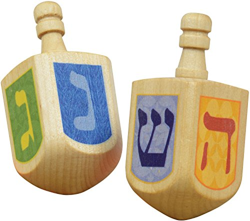 Dreidels - 2 pack - Made in USA