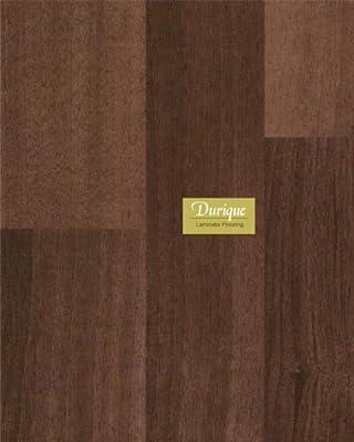 8.3 mm Durique Laminate Chocolate Walnut Flooring (4 x 7-3/4 inch Sample)