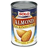 Solo Filling, Almond, 12.5-Ounce Unit (Pack of 12)
