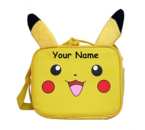 Personalized Pokemon Pikachu Lunch Lunchbox