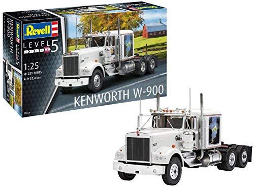 Revell RV07659 1:25 - Kenworth W-900 Plastic Model kit 1/25 1