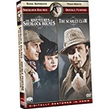 Sherlock Holmes Double Feature: The Adventures of Sherlock Holmes/The Scarlet Claw (2009)
