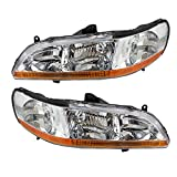 Best Headlight For Replacements - Driver and Passenger Headlights Headlamps Replacement for Honda Review