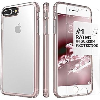 IPhone 8 Plus And 7 Case SaharaCase Clear Protective Kit Bundled With ZeroDamage