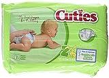 Cuties Premium Baby Diapers, Size 2, Pk/42 Image