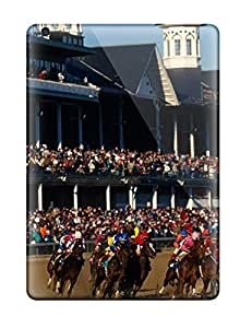 Barbauller Scratch-free Phone Case For Ipad Air- Retail Packaging - Churchill Downs Louisville