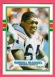 Randall McDaniel 1989 Topps Traded Rookie Card (Vikings)