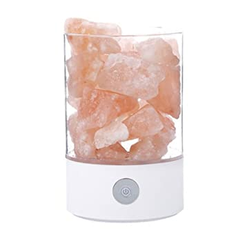 gzq salt lamp portable natural himalayan rock salt light with touch dimmer switch wedding christmas birthday