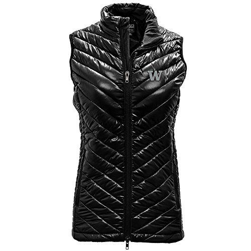 - Levelwear LEY9R NCAA Washington Huskies Women's Insignia Sphere Vest, X-Large, Black