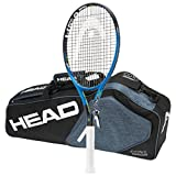 Head 2017-2018 Graphene Touch Instinct MP Tennis Racquet - STRUNG with 3 Racquet Bag (4-1/4)