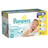 Pampers Sensitive Wipes,-1488 Wipes