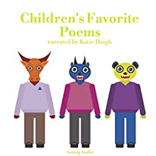 Children's Favorite Poems: Best tales and stories for kids Audiobook by James Gardner Narrated by Katie Haigh