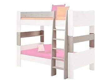 Steens Etagenbett Weiß : Steens for kids umbauset für einzelbetten zum etagenbett x