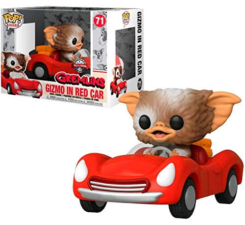 Funko POP! Rides Gremlins - Gizmo in Red Car #71 Exclusive
