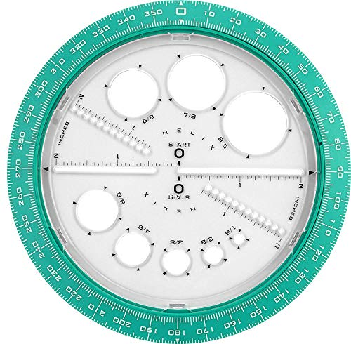 Helix 360° Angle and Circle Maker, Assorted Colors, 3 Pack by Maped Helix USA (Image #1)