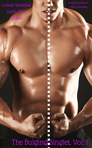 Muscular erotic male wrestlers men