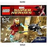LEGO Super Heroes: Iron Man vs Fighting Drone Set 30167 (Insaccato)
