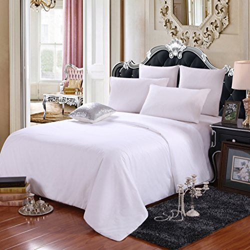 LEAFTELL 100% Natural Long Mulberry Silk Filled Comforter Silk Duvet (Queen, Summer)