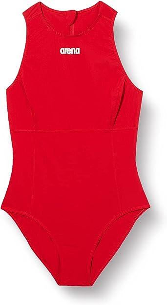 Arena Water Polo Rubber Black Swimsuit Women Polyurethane Swim skin 30 One piece