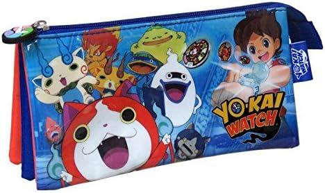 Yo-kai Watch- 0 Estuche portatodo Triple, 0 (CYP Imports PT-03-YK): Amazon.es: Juguetes y juegos