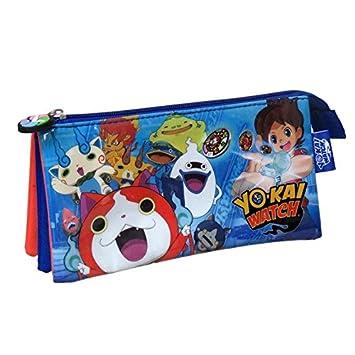 Yo-Kai Watch- 0 Estuche portatodo Triple, 0 (CYP Imports PT-03-YK)