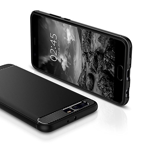 Spigen Rugged Armor Huawei P10 Plus Case with Resilient Shock Absorption and Carbon Fiber Design for Huawei P10 Plus(2017) - Rugged Armor by Spigen (Image #3)