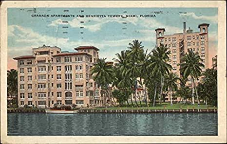 Amazon.com: Granada Apartments and Henrietta Towers Miami ...