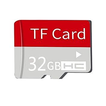 ZHOUXING Class 10 - Tarjeta de Memoria TF para cámara ...