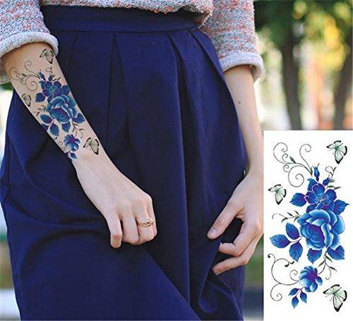 wicmeoon 10pcs tatuaje temporal falso Gemelos tatuaje Tattoo ...