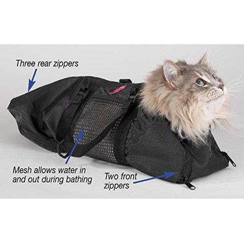 Heavy Duty Mesh Cat Grooming Bathing Restraint Bag 3 Sizes & Vet Sets Available(Vet Set - All 3 Sizes!)