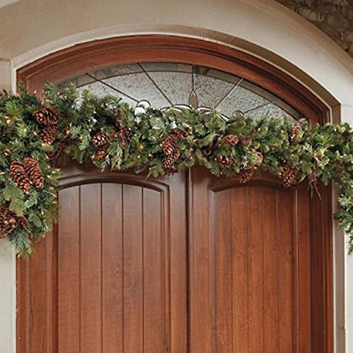 Adjustable Christmas Garland Hanger for Double Door Frames - No mess to Frames by TreeKeeper (Image #2)