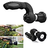 yodaliy Spray Nozzle, Adjustable Hose Watering Spray Pistol Multifunctional High Pressure Lawn Garden Hose Nozzle Car Washing Garden Lawn Watering