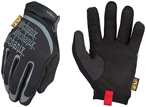 Mechanix Wear - Utility Gloves (Large, Black)