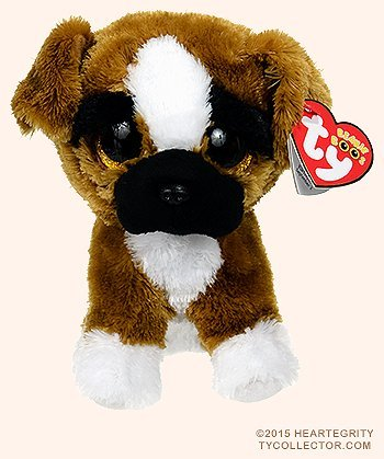 Baby Boxer Dog (Ty Beanie Boos BRUTUS the 6