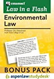 Liaf : Environmental Law 2010 Studydesk Bonus Pack, Stevenson, 1454802596