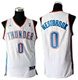 img - for Thunder 0 Westbrook White New Revolution 30 Jerseys Size-L book / textbook / text book