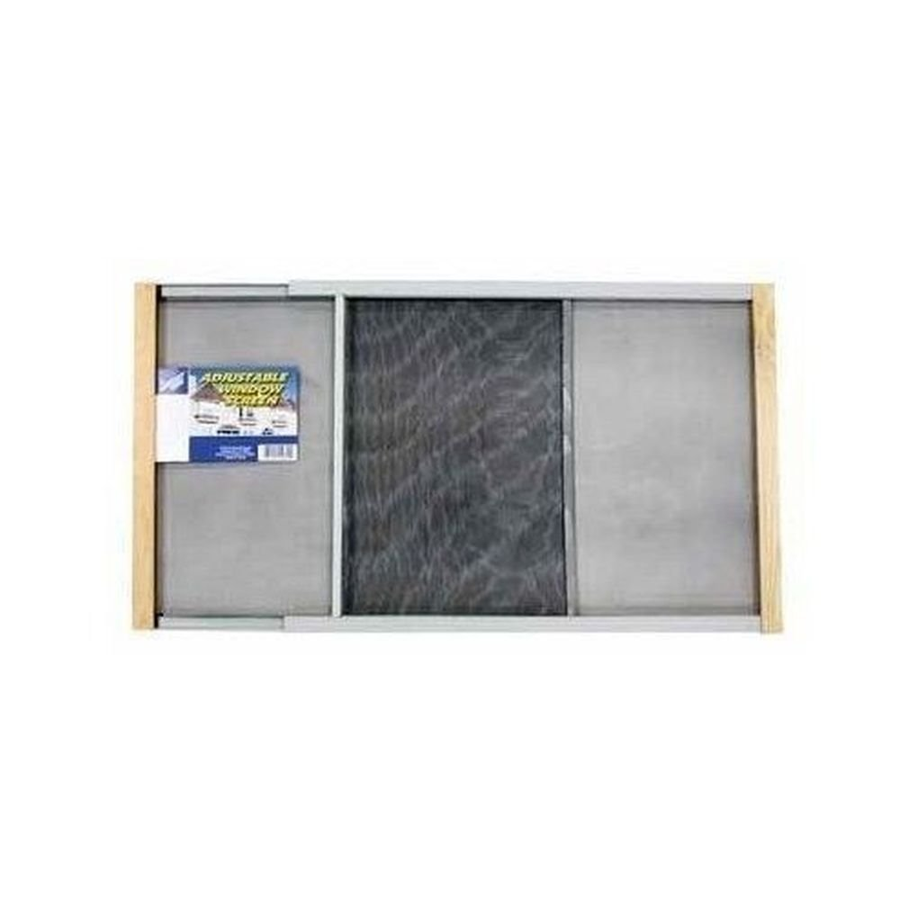 Fashion adjustable window screen wood mesh frame window insect mosquito fly 20-33''